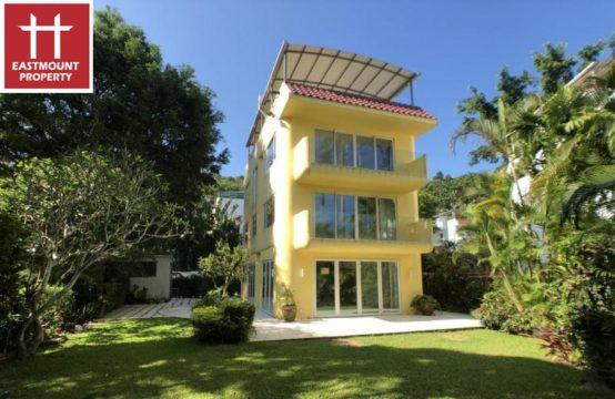 西貢 Greenfield Villa, Chuk Yeung Road 竹洋路松濤軒村屋出售及出租-獨立大單邊, 大花園  | Eastmount Property 東豪地產 ID:2222
